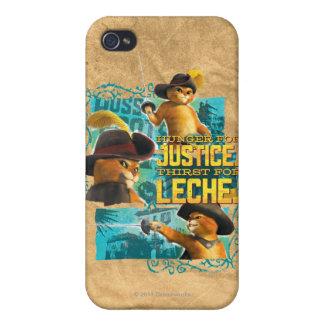 Hambre para la justicia iPhone 4 cobertura