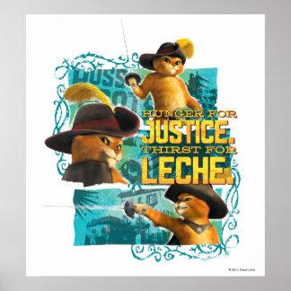 Hambre para la justicia póster