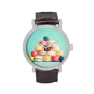 Hambriento, Macaron, inconformista, multicolor, Relojes De Mano
