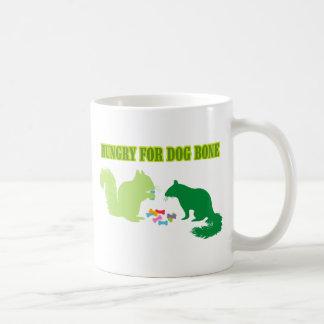 Hambriento para la Hueso-Ardilla del perro Taza De Café