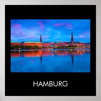 Hamburg 02B Poster