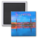 Hamburg 02U 2 Inch Square Magnet