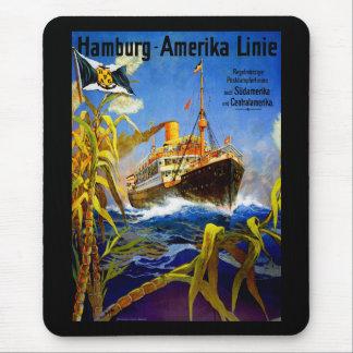 Hamburg America to South America Mouse Pad