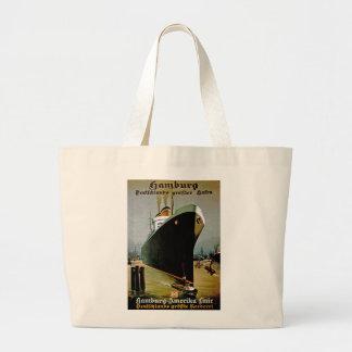Hamburg-Amerika Line Canvas Bags