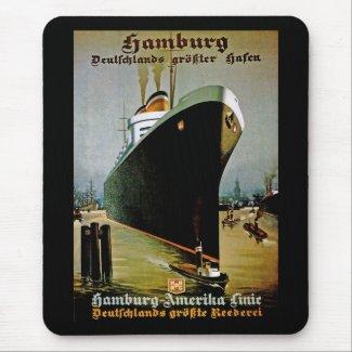 Hamburg-Amerika Line mousepad