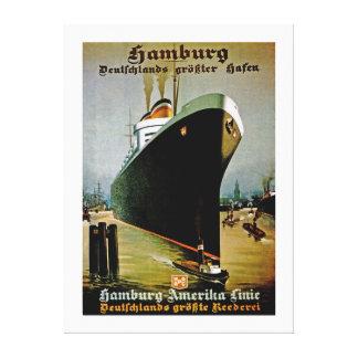 Hamburg-Amerika Line ~ XL Canvas Print