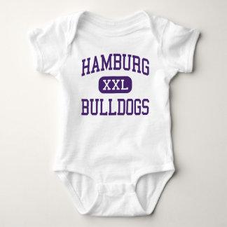 Hamburg - Bulldogs - High - Hamburg New York Baby Bodysuit