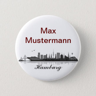 Hamburg button/Anstecker/pin Button