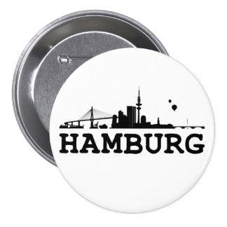 Hamburg button/Anstecker/pin Pinback Button