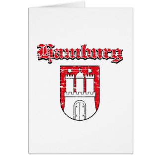 hamburg City designs Greeting Card