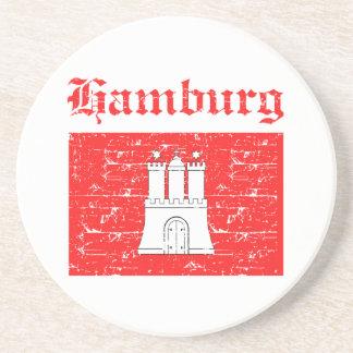Hamburg City designs Beverage Coasters