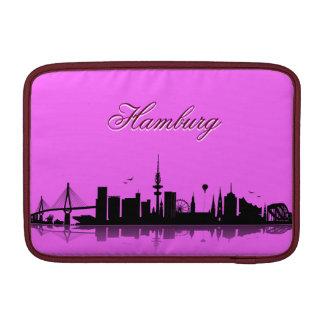 Hamburg city of skyline - iPad/laptop Sleeve MacBook Air Sleeve