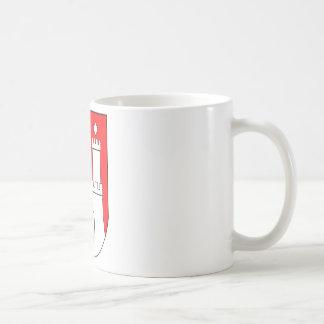 Hamburg coats of arms coffee mug