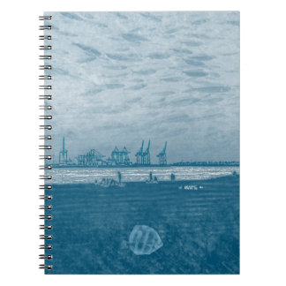 Hamburg Elbe:: Notebook