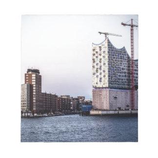 Hamburg Elbphilharmonie Memo Notepads