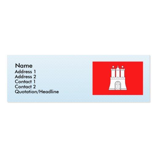 Hamburg, Germany Business Card Templates