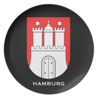 Hamburg* Germany Collector's Plate