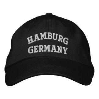 Hamburg, Germany Embroidered Hats