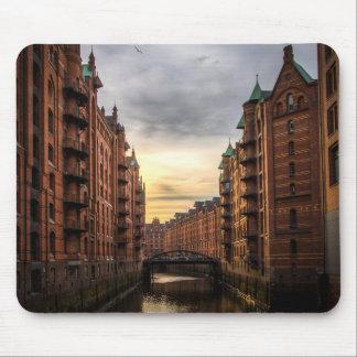 Hamburg, Germany Mouse Pad