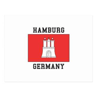 Hamburg Germany Postcard