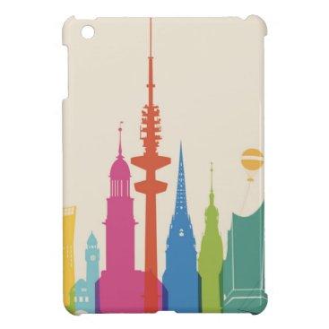 Hamburg Germany Skyline Case For The iPad Mini