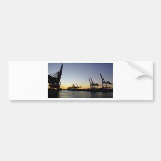 hamburg harbor bumper sticker