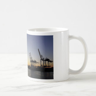 hamburg harbor coffee mug