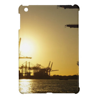 hamburg harbor cover for the iPad mini
