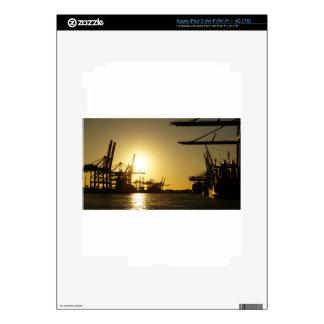 hamburg harbor decals for iPad 3