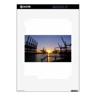 hamburg harbor iPad 2 skins