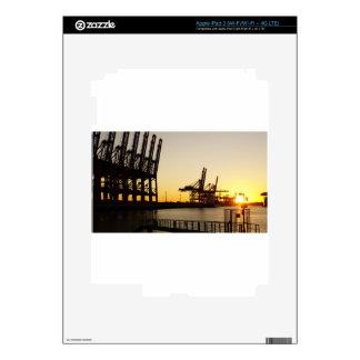 hamburg harbor iPad 3 decals