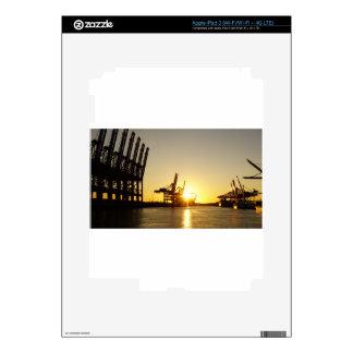 hamburg harbor iPad 3 skin
