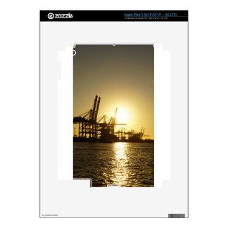 hamburg harbor iPad 3 skins