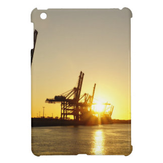 hamburg harbor iPad mini cover