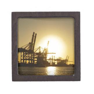 hamburg harbor jewelry box