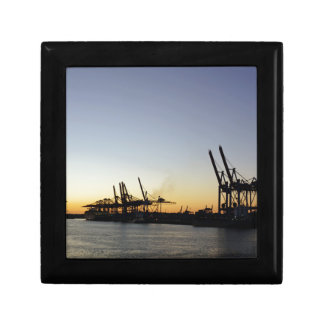 hamburg harbor keepsake box