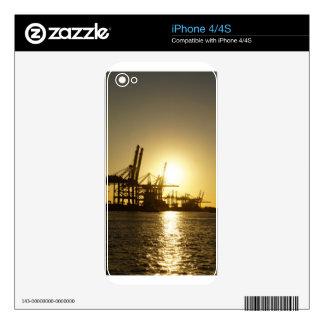hamburg harbor skin for iPhone 4S