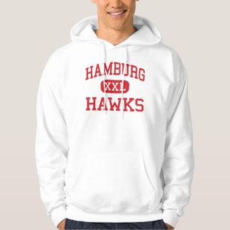Hamburg - Hawks - Middle - Hamburg Pennsylvania Hoodie