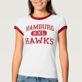 Hamburg - Hawks - Middle - Hamburg Pennsylvania T-Shirt