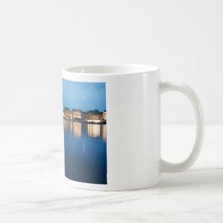 Hamburg Lake Binnenalster at Night Coffee Mugs