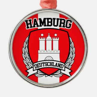 Hamburg Metal Ornament