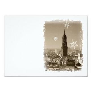 Hamburg Michel, Christmas greetings from Hamburg,  Card