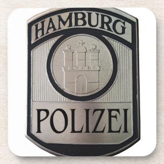 Hamburg Polizei Beverage Coaster