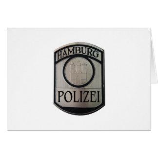 Hamburg Polizei Card
