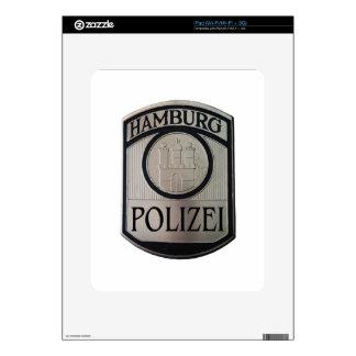 Hamburg Polizei Decals For iPad
