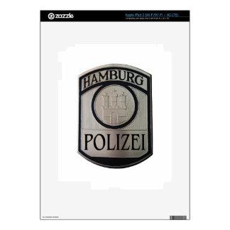 Hamburg Polizei Decals For iPad 3