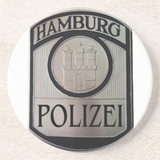 Hamburg Polizei Drink Coaster