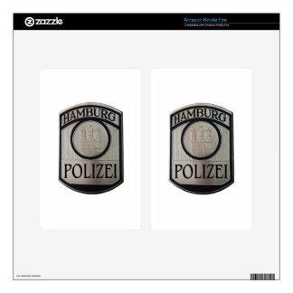Hamburg Polizei Kindle Fire Skins