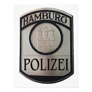 Hamburg Polizei Letterhead