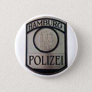 Hamburg Polizei Pinback Button